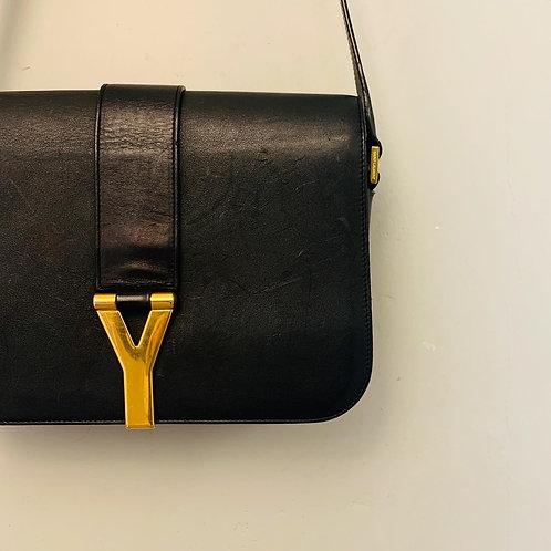 Bolsa Yves Saint Laurent Chyc Preta