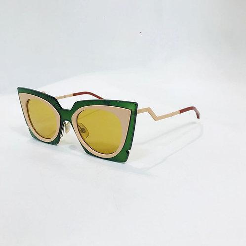 Óculos Fendi Verde Musgo
