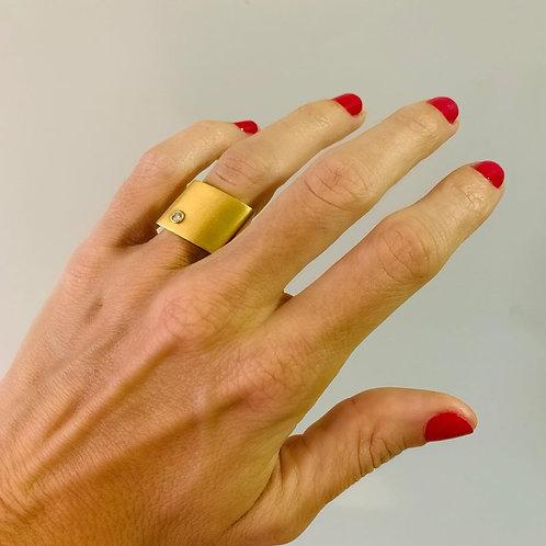 Anel Juliana Caleffi em Ouro tam. 9