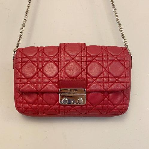 Bolsa Dior Couro Vermelho