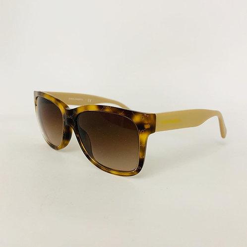 Óculos D&G em Acetato Marrom