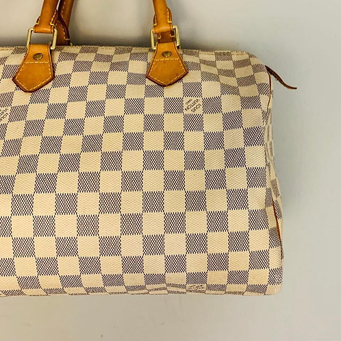 Bolsa Louis Vuitton Speedy Damier Azur 30
