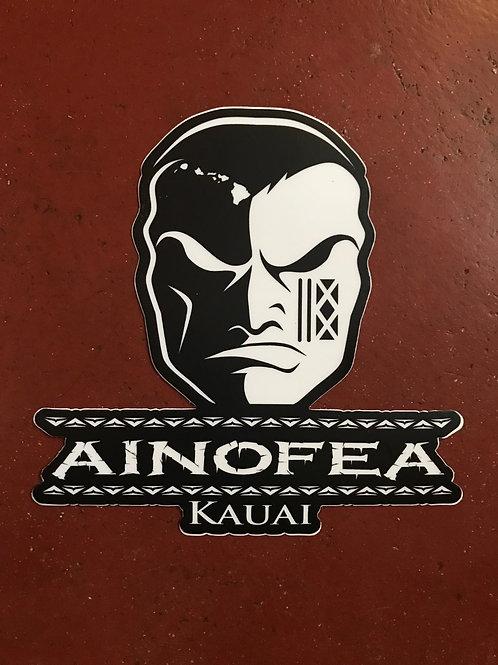 Ainofea logo sticker