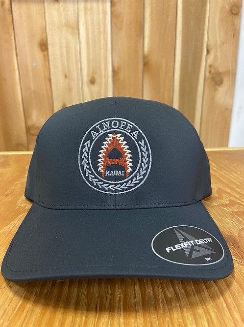 Black Flex fit cap