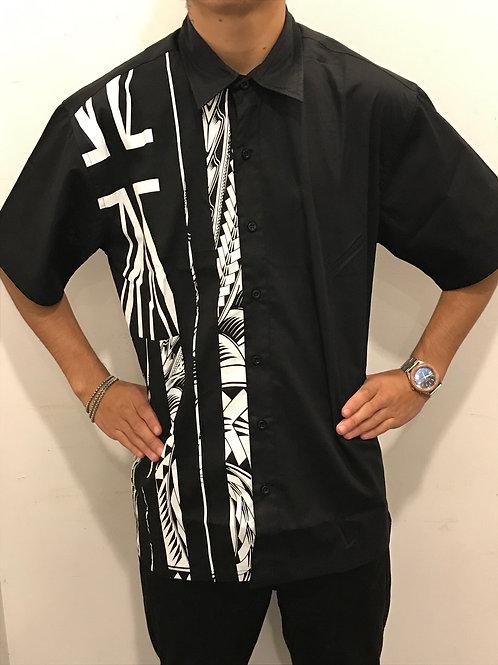 Hawaiian flag -tattoo Aloha Shirt