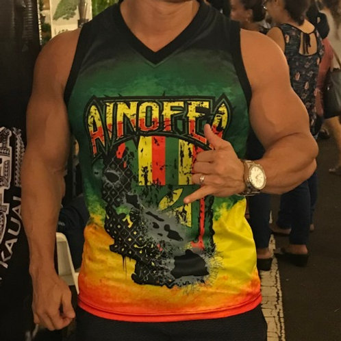 New Ainofea Rasta Tank top