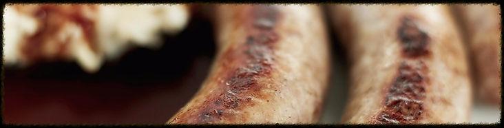 Saucisse grillée du Restaurant Le Buron de l'Aubrac