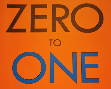 Peter Thiel/Blake Masters - Zero to One