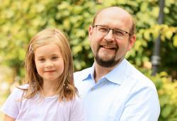 Steffen Zahn und Luisa