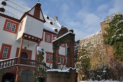 Stadtschloss im Winter