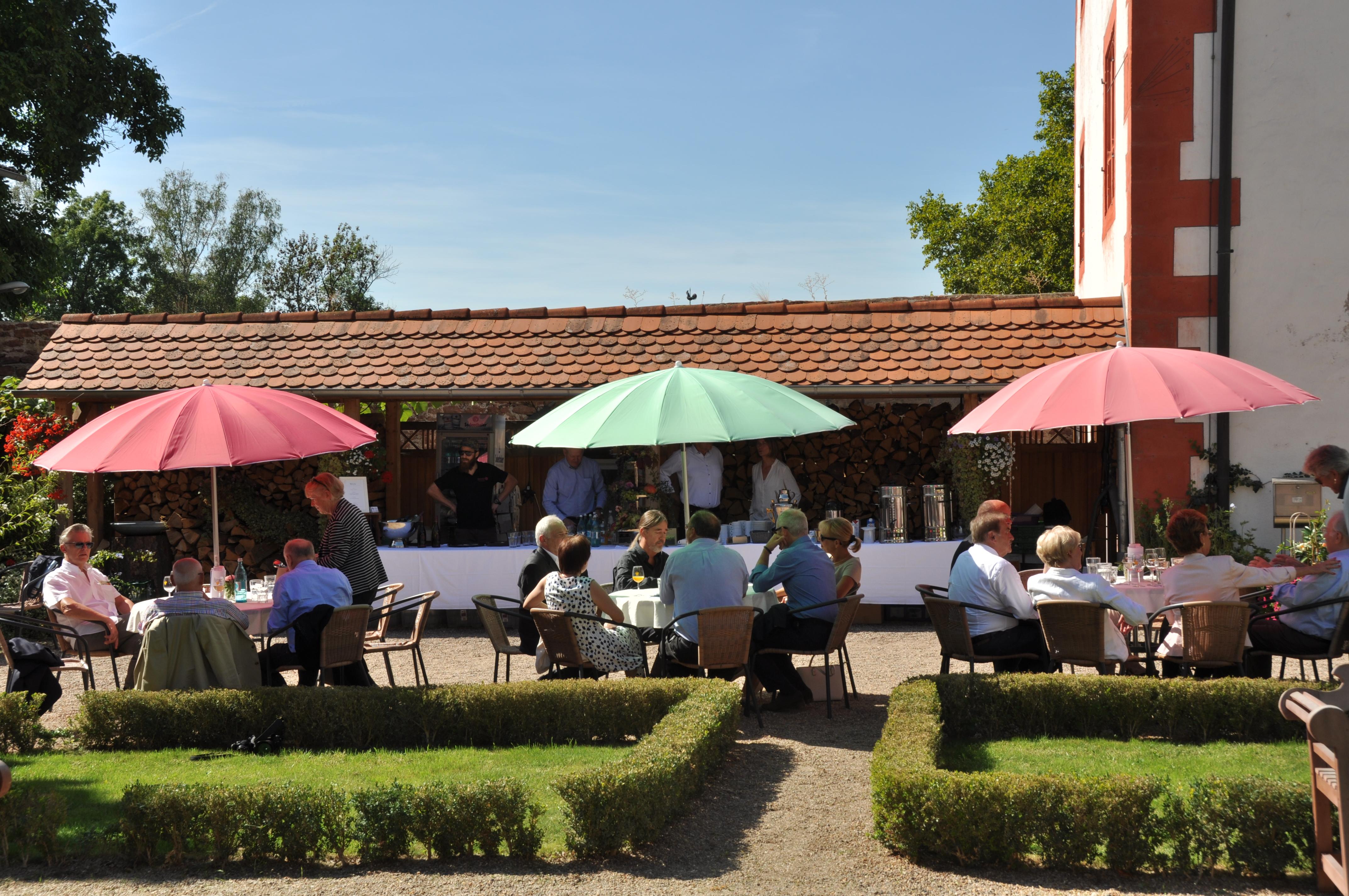 Sommerfest im Schlosshof