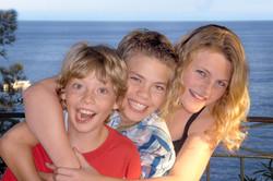 Charlotte, Leo und Julius Imhäuser