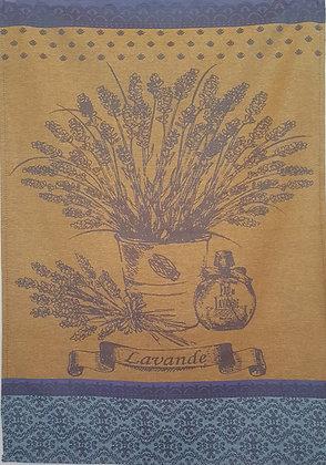 Teatowel - Lavande (Gold & Blue)