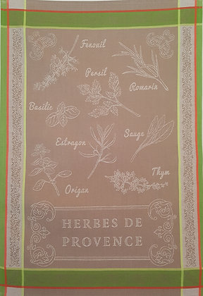 Teatowel - Herbes de Provence