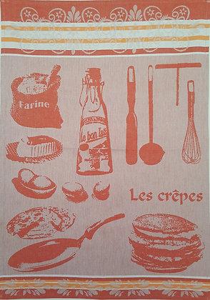Teatowel - Les Crepes (Orange)