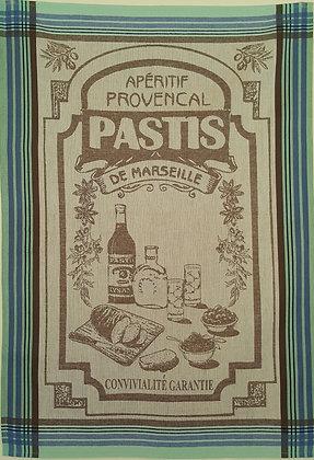 Teatowel - Aperitif Provencal Pastis
