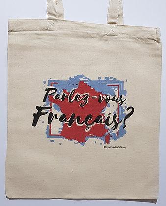 Tote Bag - Parlez vous Francais