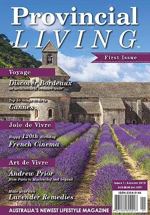 Issue 1 - Autumn 2015