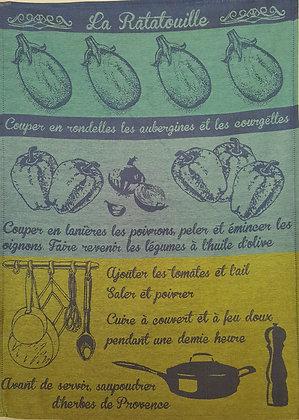 Teatowel - La Ratatouille