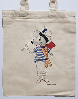 Tote Bag - Frenchie Mouse