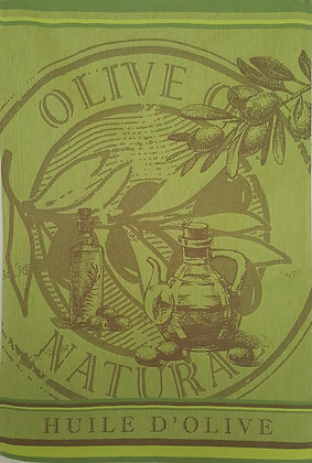 Teatowel - Olive Oil Natural
