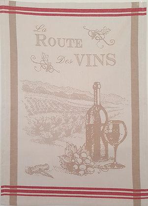 Teatowel - Route de Vins