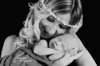 Maman / bébé : Anaïs & Louis (4 semaines)