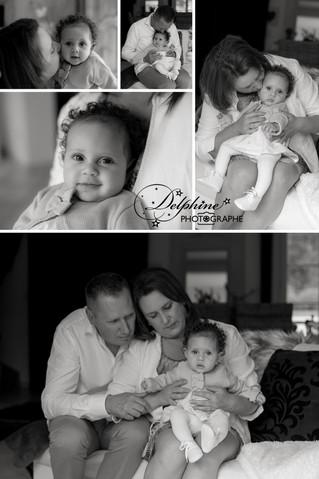 Séance lifestyle pour cette adorable petite princesse de 5 mois