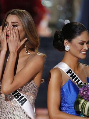 Le couronnement par erreur.. Miss Univers 2015