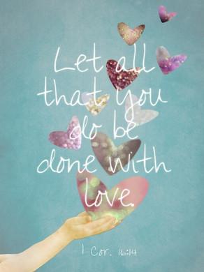 1 corinthiens 16:14