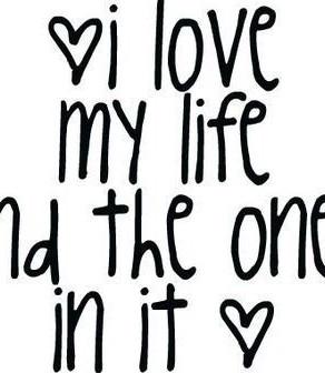j'aime ma vie