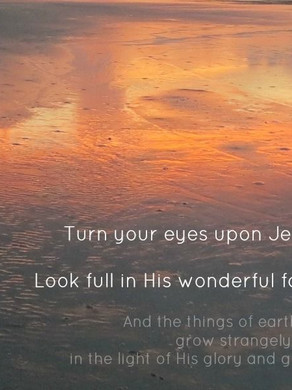 Tourne le regard vers Jesus