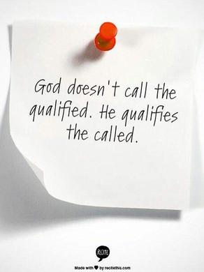 Dieu appelle et qualifie son appelé