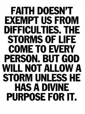 Tout le monde croyant ou Non connaîtra la difficulté dans son parcours de Vie
