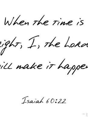 Le temps de Dieu