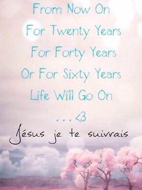 Dans la détresse prend courage au nom de Jésus