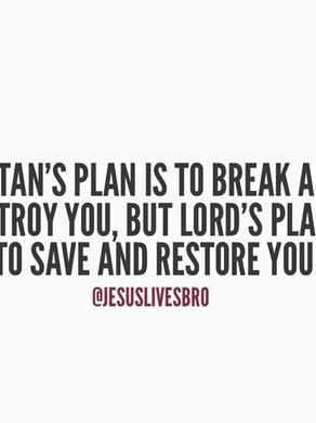 🙏🏾 Dieu a un plan pour TA VIE🙏🏾