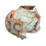 💶 un billet froissé 💶
