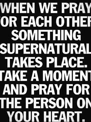 Je prie pour toi