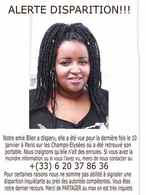 Aidez-nous à la retrouver svp