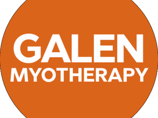 Our new affiliate - Galen Myotherapy