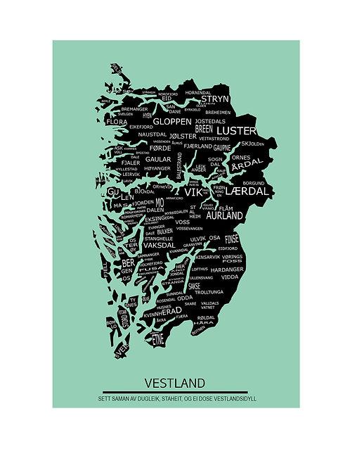 Vestland Patriotkart