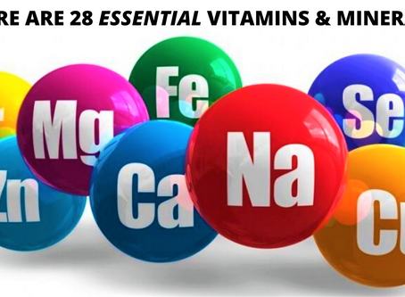 There are 28 Essential Vitamins & Minerals. What's the Best Way to Absorb Them?