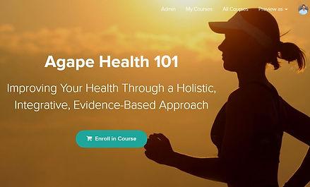 Agape Health Univ. Health 101 Course Scr
