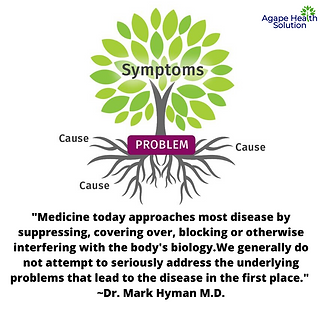 Medicine approaches most disease by supp