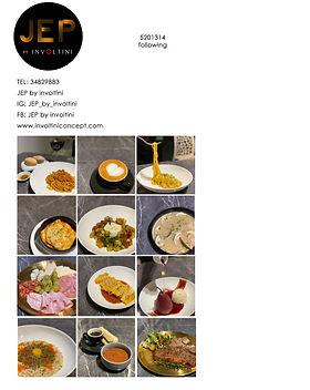JEP by involtini menu