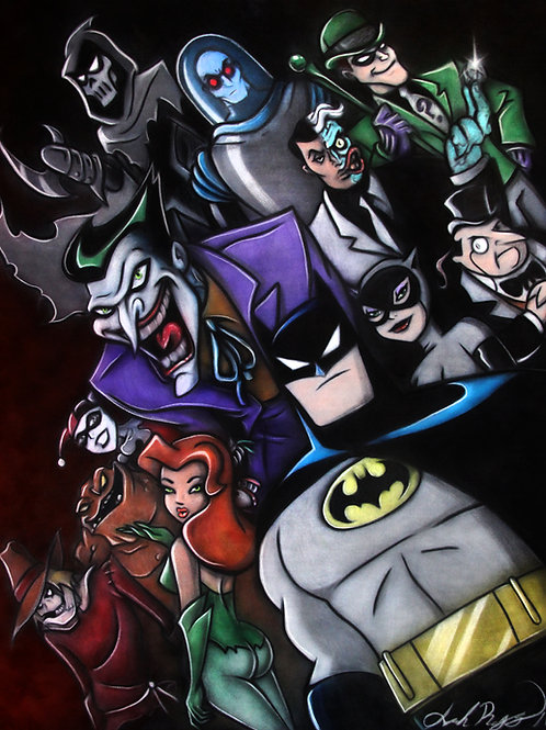 Batman the Animated Series - PRINT