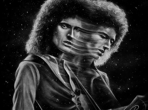 Long Exposure Brian May - PRINT