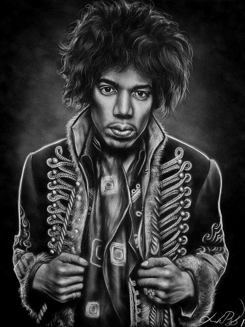 Jimi Hendrix - PRINT
