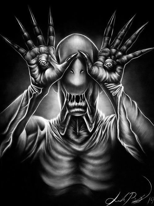 Pale Man - PRINT